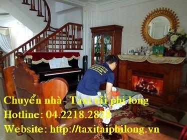 Thanh Hương chuyển nhà, dọn kho tại Mỹ Đình
