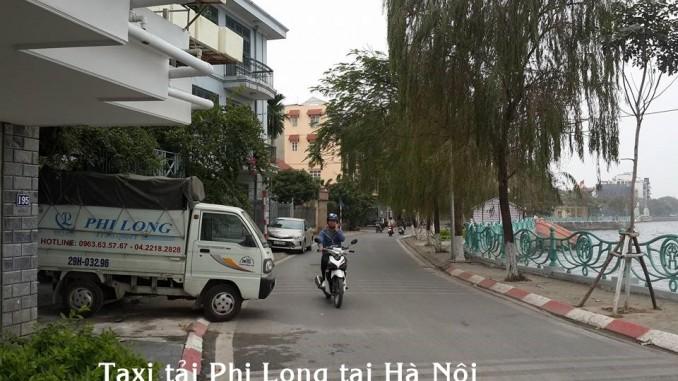 Dịch vụ taxi tải uy tín tại phố Hàn Thuyên