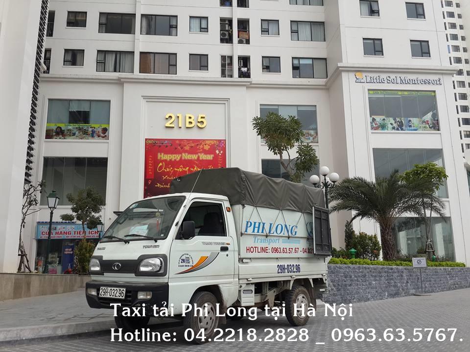Cho thuê xe tải uy tín tại phố Đồng Nhân