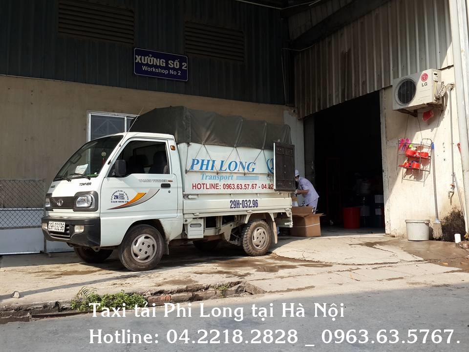 Cho thuê xe tải chuyên nghiệp tại phố Đội Cung
