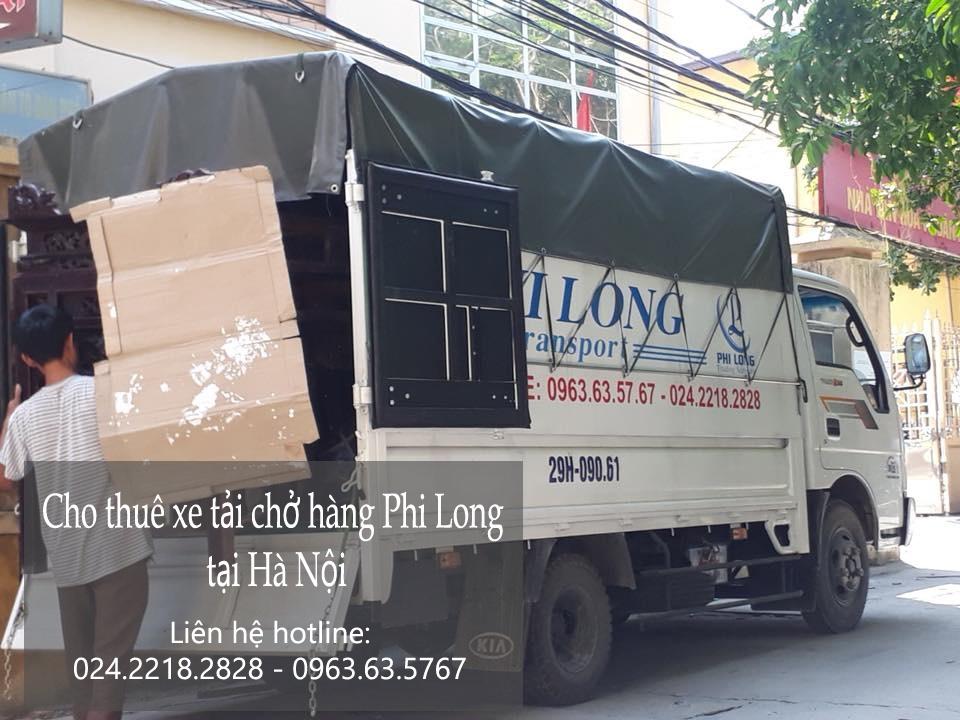 Cho thuê xe tải tại phố Hàng Hòm