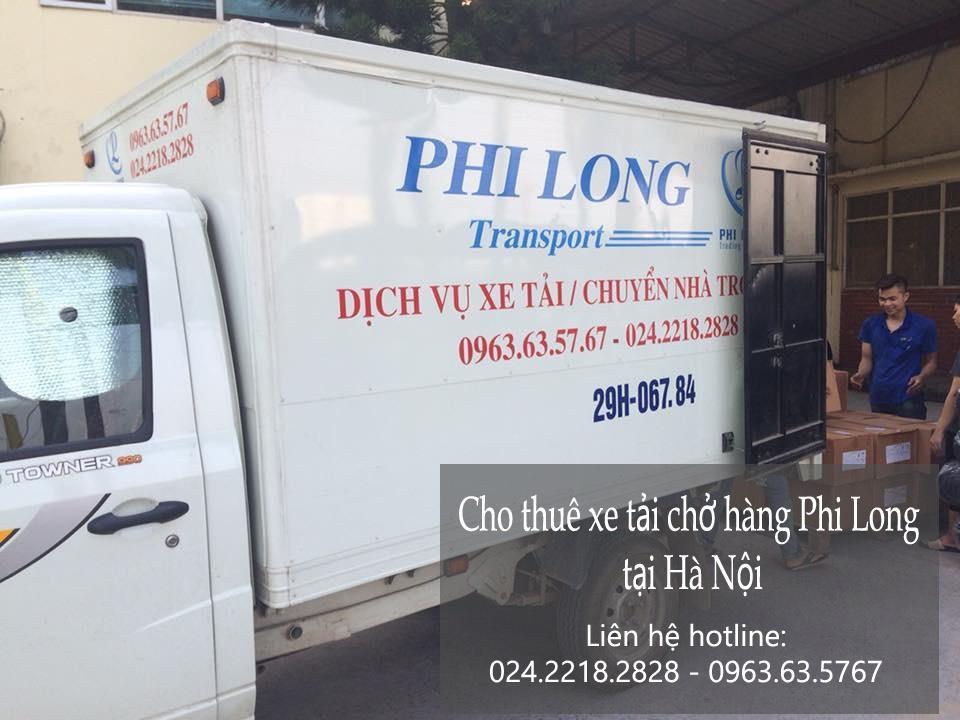 Dịch vụ thuê xe tải Phi Long tại phố Dịch Vọng Hậu