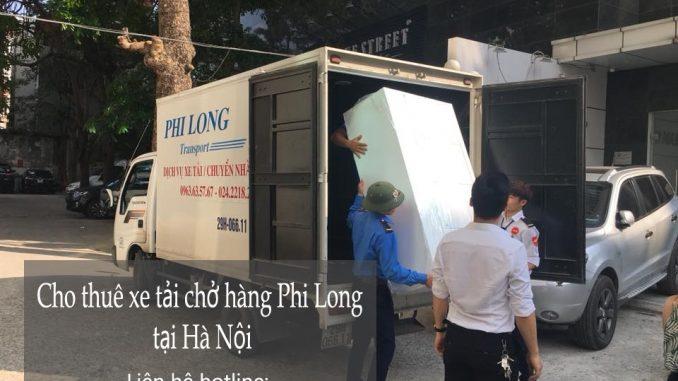 Thuê xe vận chuyển uy tín tại phố Triệu Việt Vương