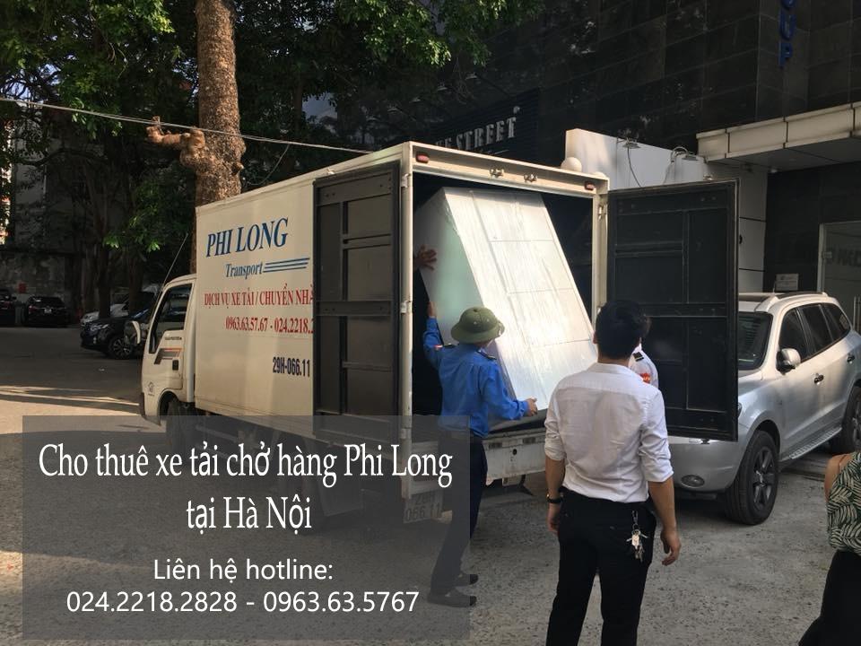 Cho thuê xe tải chở hàng Phi Long tại phố Tạ Quang Bửu