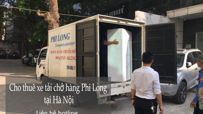 Cho thuê xe tải chở hàng tại phố Hàng Quạt