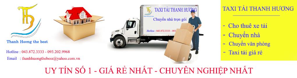 Dịch vụ taxi tải uy tín phố Bùi Xương Trạch