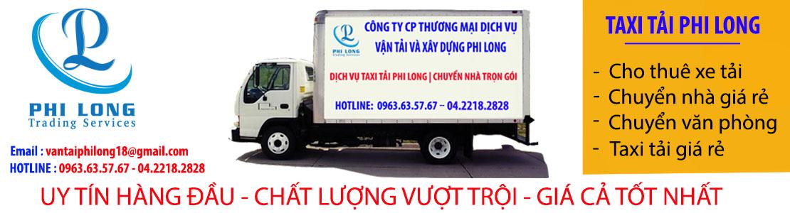 Dịch vụ taxi tải giá rẻ tại phố Yên Hòa