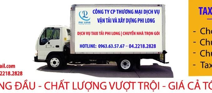 Cho thuê xe tải uy tín tại phố Võ Chí Công