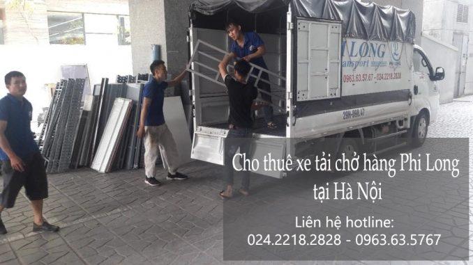 Dịch vụ thuê xe tải chở biển quảng cáo tại phố Trần Cao Vân