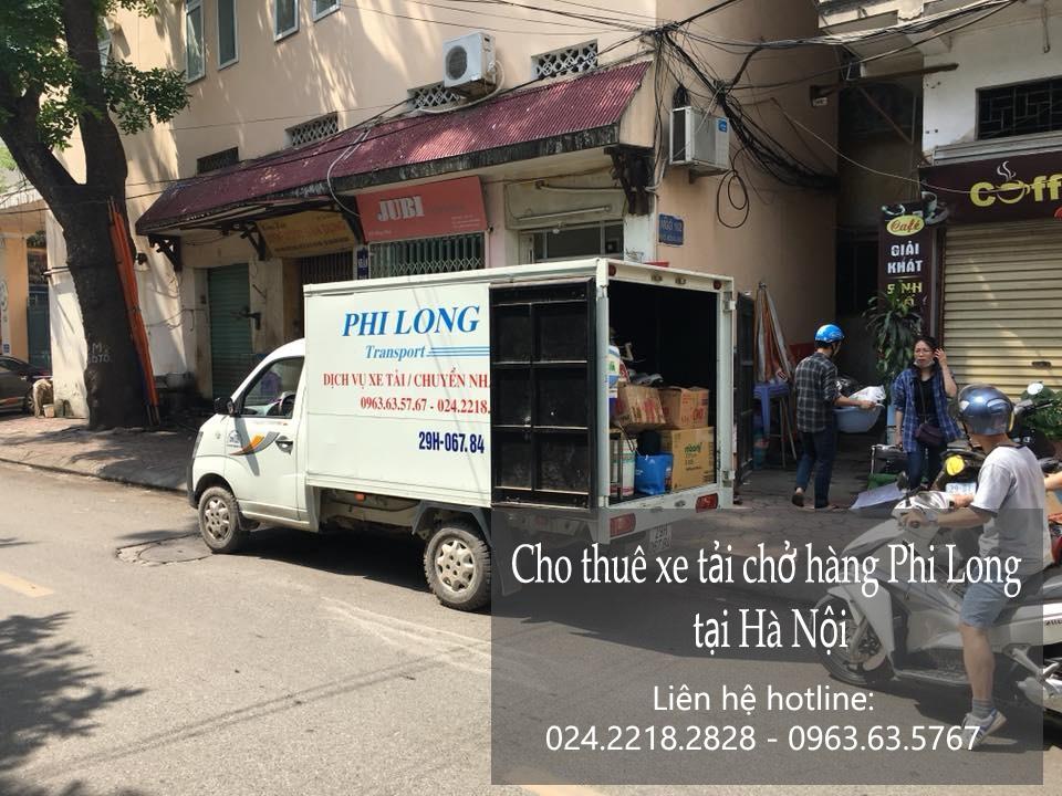 Dịch vụ thuê xe tải Phi Long tại phố Nguyễn Siêu