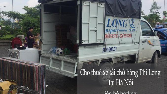 Dịch vụ cho thuê xe tải giá rẻ tại phố Trần Quốc Toản