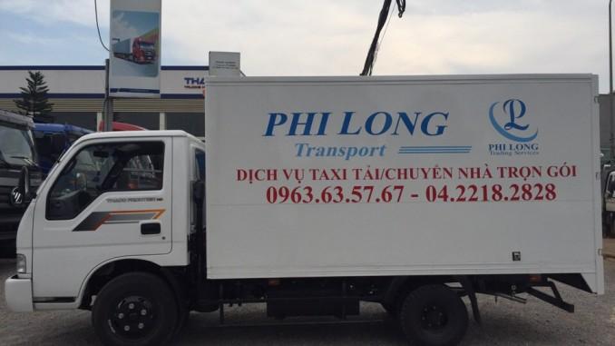 Phi Long cho thuê xe tải tại đường Lê Đức Thọ