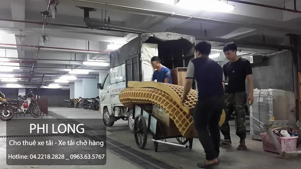 Cho thuê xe tải giá rẻ chuyên nghiệp tại phố Khâm Thiên