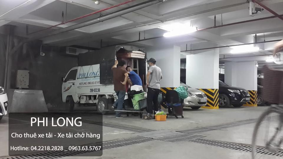 Cho thuê xe tải giá rẻ tại phố Chùa Láng