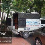 Dịch vụ cho thuê xe tải giá rẻ Phi Long tại phố Khâm Thiên