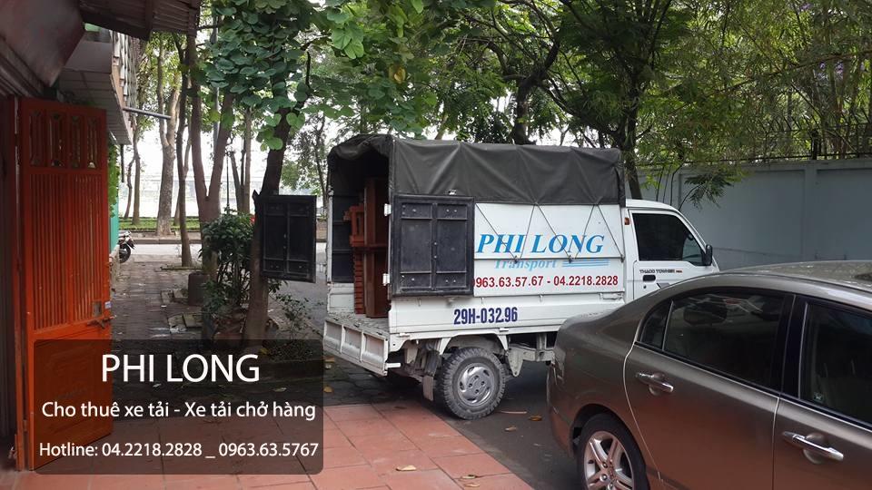 Dịch vụ cho thuê xe tải chuyển nhà tại Đường Láng