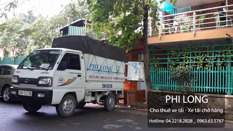 Cho thuê xe tải giá rẻ chuyên nghiệp tại Đường Láng