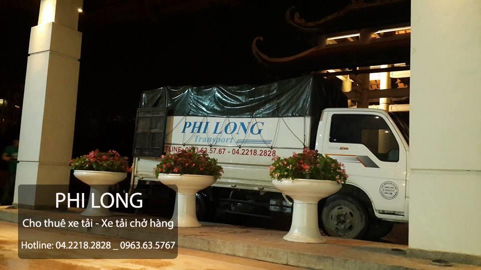 Dịch vụ cho thuê xe tải chuyển nhà giá rẻ uy tín Phi Long tại đường Trung Hòa