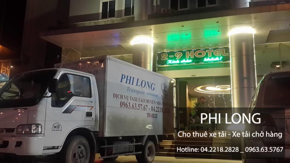 Taxi tải chuyển nhà giá rẻ Phi Long tại đường Trung Hòa