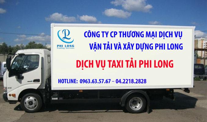 Xe taxi tải 1.4 tấn Phi Long