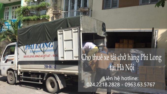 Dịch vụ xe tải nhỏ chở hàng tại phố Tân Ấp