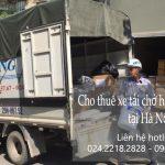 Dịch vụ cho thuê xe tải tại phố Đặng Thùy Trâm