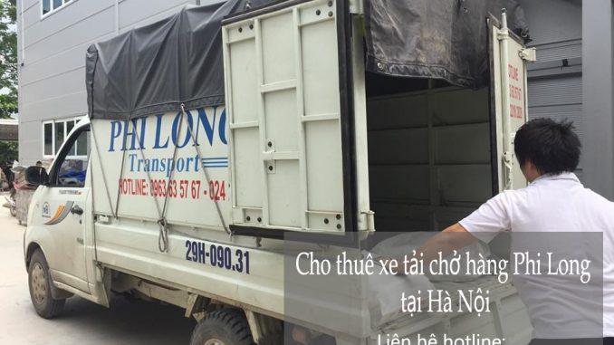Dịch vụ cho thuê xe tải tại phố Phạm Ngũ Lão