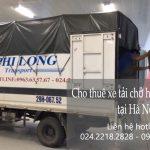 Dịch vụ cho thuê xe tải vận chuyển tại phố Nguyễn Chế Nghĩa