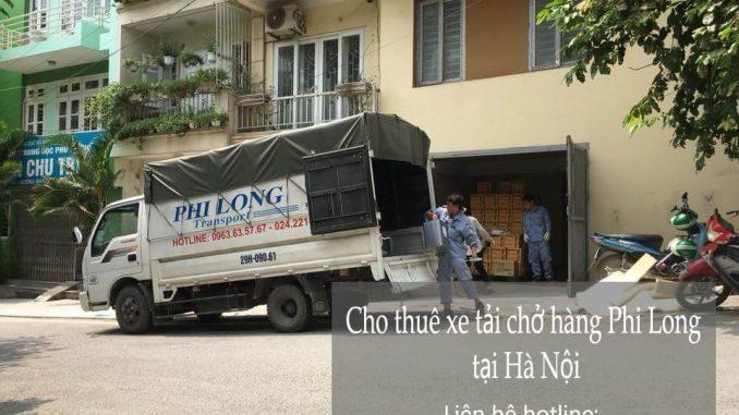 Cho thuê xe tải uy tín tại phố Hàng Dầu
