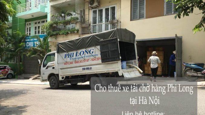 Dịch vụ cho thuê xe tải tại phố Ngô Sĩ Liên