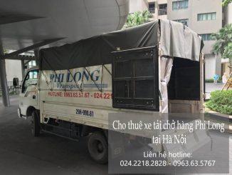 Dịch vụ cho thuê xe tải tại phố Đội Cấn