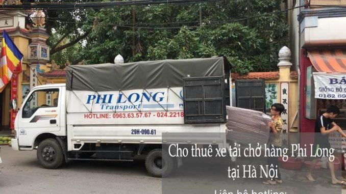 Dịch vụ cho thuê xe tải nhỏ chở hàng tại phố Yên Bình