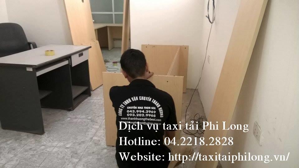 Dịch vụ taxi tải uy tín tại phố Hạ Yên