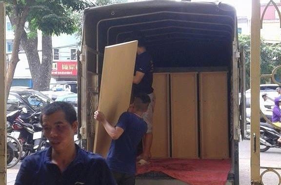 Cho thuê xe tải giá rẻ tại phố Hoàng Ngân