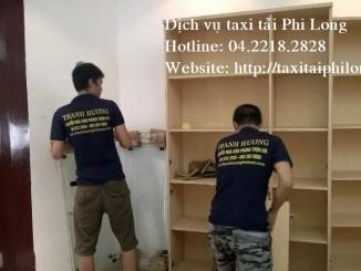 Cho thuê xe tải chuyên nghiệp tại phố Hoàng Đạo Thúy