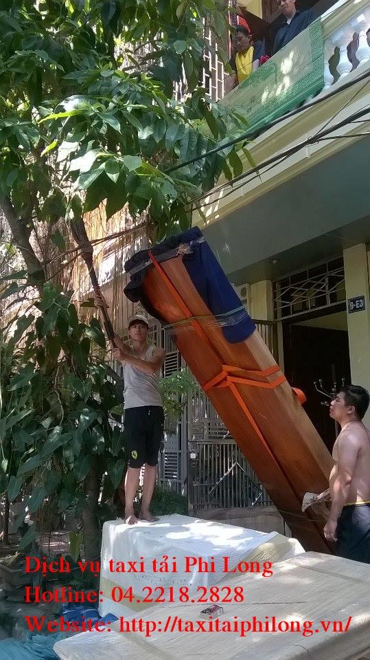Cho thuê xe tải uy tín tại phố Trương Công Giai