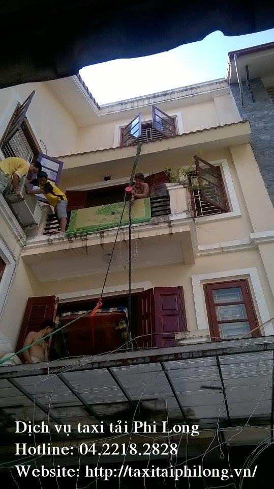 Cho thuê xe tải uy tín tại phố Trần Quý Kiên