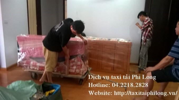 Dịch vụ taxi tải chuyên nghiệp tại phố Trần Quý Kiên