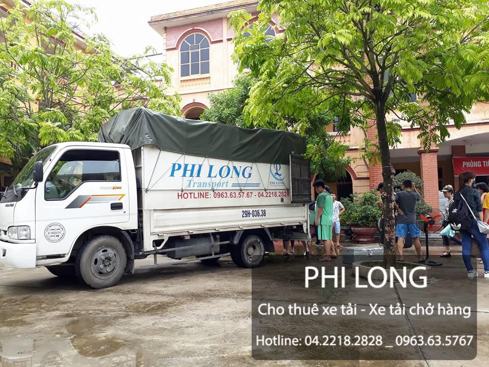 Dịch vụ cho thuê xe tải chuyển nhà giá rẻ tại phố Yên Lãng