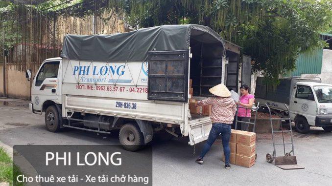 Phi Long hãng cho thuê xe tải chở hàng giá rẻ chuyên nghiệp tại phố Đặng Tiến Đông