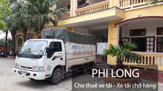 Phi Long hãng cho thuê xe tải chuyên nghiệp tại phố An Trạch