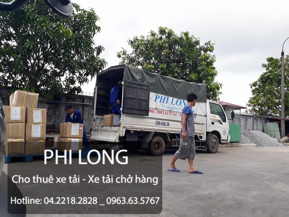 Cho thuê xe tải chở hàng giá rẻ chuyên nghiệp số 1 tại phố Đặng Tiến Đông