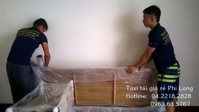Chuyển nhà giá rẻ phố Hồ Tùng Mậu với Thanh Hương