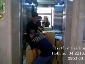 Dịch vụ taxi tải uy tín tại phố Duy Tân