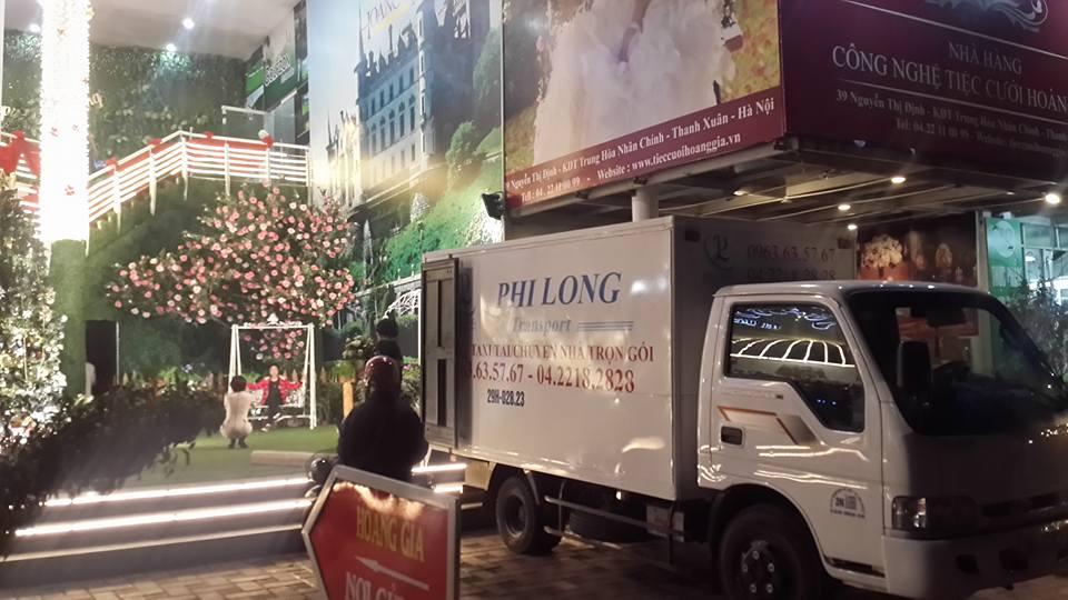 Dịch vụ taxi tải chuyên nghiệp tại phố Đại Cồ Việt