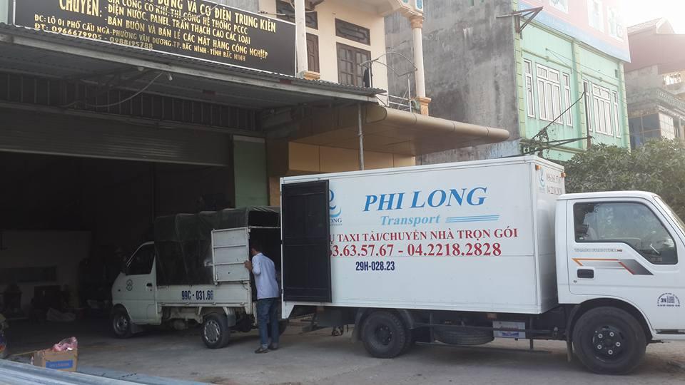 Cho thuê xe tải uy tín tại phố Cao Đạt