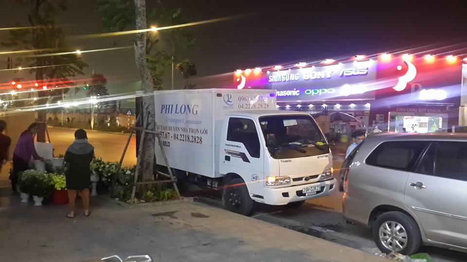 Cho thuê xe tải uy tín tại phố Cảm Hội