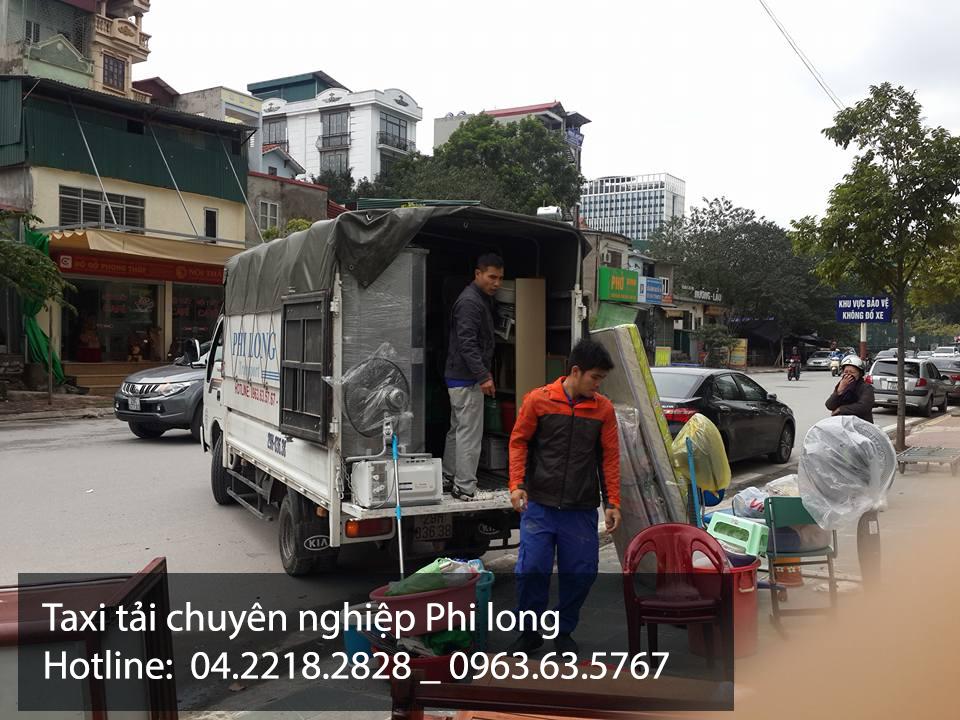 Cho thuê xe tải giá rẻ tại phố Trần Nhân Tông