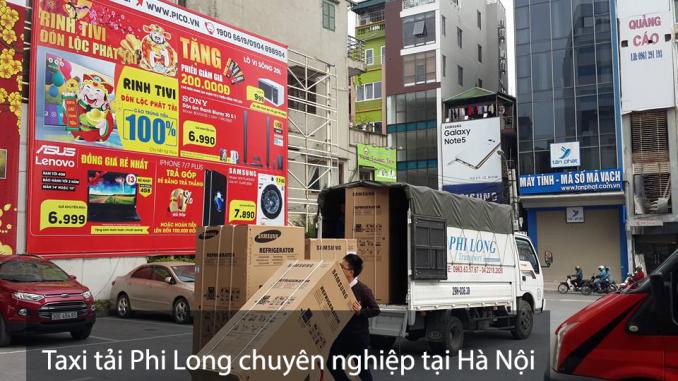Cho thuê xe tải giá rẻ tại phố Giải Phóng