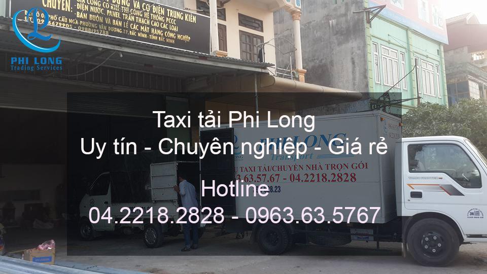 Dịch vụ taxi tải chuyên nghiệp tại phố Bùi Ngọc Dương